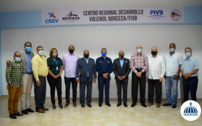 Comisión Presidencial de Desarrollo Provincial anuncia remozamiento del pabellón de voleibol