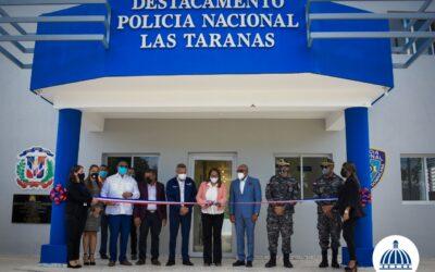 Comisión Presidencial de Desarrollo Provincial inaugura destacamentos policiales en la provincia Duarte