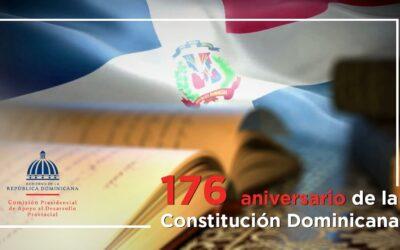 CPADP se enorgullece en celebrar el 176 aniversario de la Constitución Dominicana