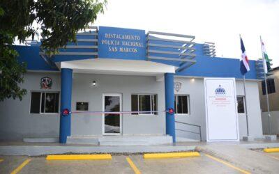 Comisión Presidencial de Desarrollo Provincial inaugura tres destacamentos en la provincia de Puerto Plata