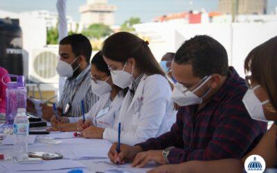 Comisión Presidencial de Desarrollo Provincial realiza jornada de pruebas PCR a sus colaboradores