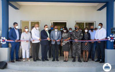 Comisión Presidencial de Desarrollo Provincial inaugura destacamento en Hato Mayor del Rey
